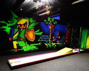 Indoorminigolf Friedberg: Minigolf